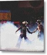 A Night At The Rodeo V3 Metal Print