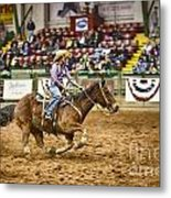 A Night At The Rodeo V31 Metal Print