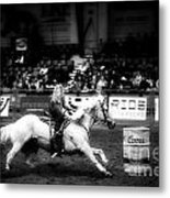 A Night At The Rodeo V33 Metal Print