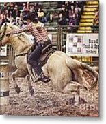A Night At The Rodeo V34 Metal Print