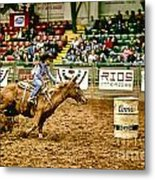 A Night At The Rodeo V35 Metal Print