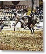 A Night At The Rodeo V36 Metal Print
