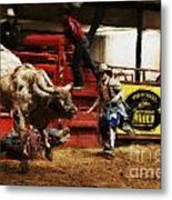 A Night At The Rodeo V38 Metal Print