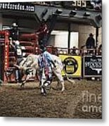 A Night At The Rodeo V39 Metal Print