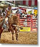 A Night At The Rodeo V5 Metal Print