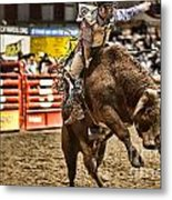 A Night At The Rodeo V6 Metal Print