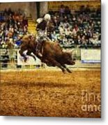 A Night At The Rodeo V7 Metal Print
