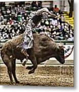 A Night At The Rodeo V8 Metal Print