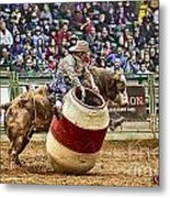 A Night At The Rodeo V9 Metal Print