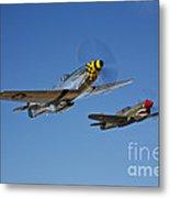 A P-51d Mustang Kimberly Kaye Metal Print