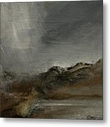 A Painting A Day 7 Abstract Landscape Painting Original Signed Painting  Metal Print