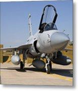 A Pakistan Air Force Jf-17 Thunder Metal Print