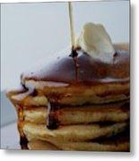 A Pancake Stack Metal Print