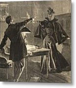 A Parisien Drama, Illustration From Le Metal Print