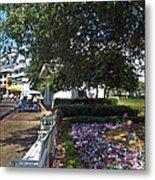 A Perfect Day On The Boardwalk Walt Disney World Metal Print