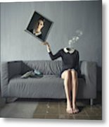 A Picture Of Me Metal Print