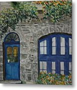 A Picturesque Corner Of France Metal Print