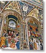 A Piece Of The Piccolomino Metal Print
