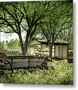A Place In The Shade Metal Print