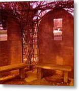 A Place Of Solace After Loss Metal Print