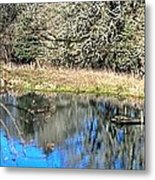 A Place To Ponder 055 Metal Print
