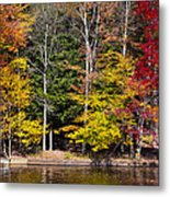 A Place To Relax In The Adirondacks Metal Print
