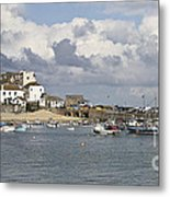 A Postcard From St Ives Metal Print