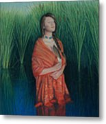 A Prayer For The Waters Metal Print