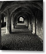 A Priory Vault. Metal Print
