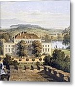 A Prussian Royal Residence, C.1852-63 Metal Print