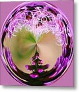 A Purple Design Metal Print