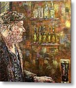 A Quiet Guinness Metal Print