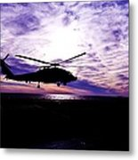 A Quiet Watch Metal Print