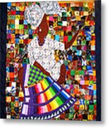 A Quilter's Dream Metal Print by Aisha Lumumba