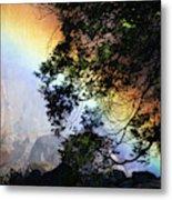A Rainbow Below Yosemite Falls Metal Print