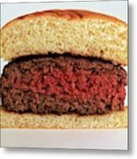 A Rare Hamburger Metal Print