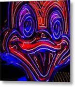 A Real Duck Face Metal Print