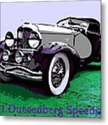 A Real Duesey Metal Print