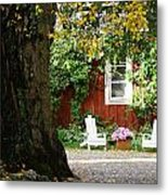 A Relaxing Finnish Afternoon Metal Print