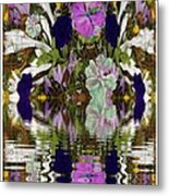 A River Of Flowers  Metal Print