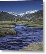 A River Runs Thru It Metal Print