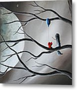 A Road To Healing Starts With Memories By Shawna Erback Metal Print by Shawna Erback