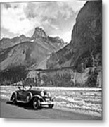 A Roadster In The Rockies Metal Print