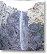 A Rock Face Metal Print