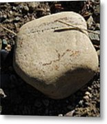 A Rock With No Roll Metal Print