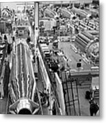 A Rocket Manufacturing Facility. Metal Print