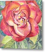 A Rose For Mom Metal Print
