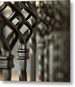 A Row Of Spindle's  Metal Print
