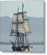 A Row With Lady Washington Metal Print by Barrie Woodward