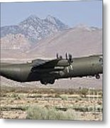 A Royal Air Force C130k Hercules Metal Print